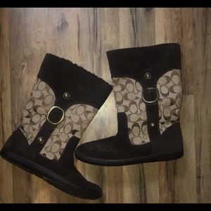 Adorable Signature Coach Boots